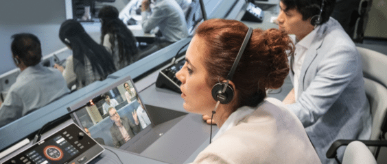 Servizio Interprete di nuova generazione con consolle digitali Webcast adatte per live streaming